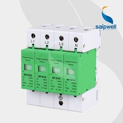 CE RoHS approved Saip/Saipwell 380/440v ip camera surge protection