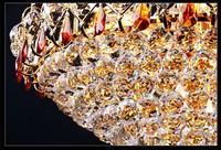 Gold pendant led light/crystal pendant light/crystal ball pendant light made in China