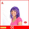 brand new party favors new purple tinsel wig