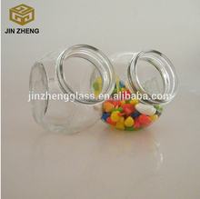 180ml ball shaped glass food container with wooden lid alibaba china