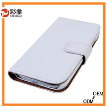 2015 Hot selling bookstyle leather mobile phone case for htc one 801e