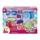 mini cozinha conjunto de brinquedo 10 peças