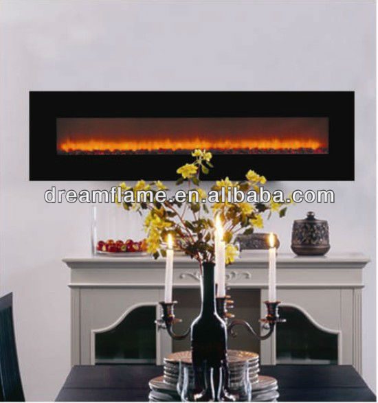 Wholesale Wall Mounted Big View Electric Fireplace