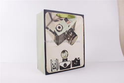 art design photo camera paper bag