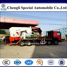 HOWO 120 ton lifting hydraulic truck crane/Truck mounted mobile crane for sale