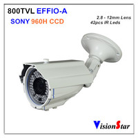 High Quality 960H 2.0MP CCD 800TVL Support OSD Menu IIndoor Vision IR Waterproof Bullet Video CCTV Camera Vision Star