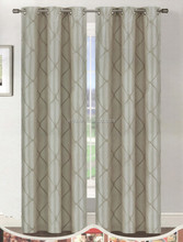 VE150 100% polyester quilting curtain panel