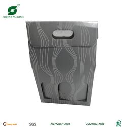 3 BOTTLE WINE CARDBOARD CARRIER FP72833