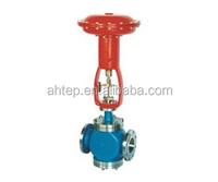 Electric double pneumatic regulating valve