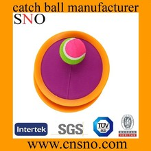 fashional promotion colorful catch ball velcro catch ball