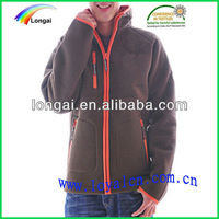 men cheap plain polar fleece varsity jacket 2013