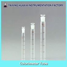 Colorimeter Tube with glass stopper, Laboratory glassware