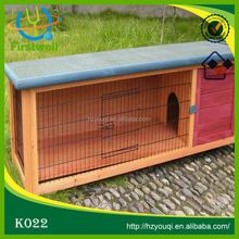New arrival wooden high quality rabbit hutch/house