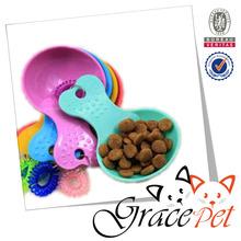 2015 New Design High Quality Lowest Price Plastic Dog Food Shovel Pet Product
