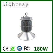 high power 180W LED High Bay 80lm/w warehouse light Meanwell driver 3 years warranty