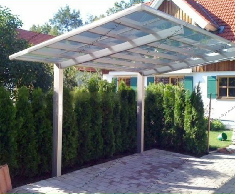 Portable Covered Carport : High quality steel frame portable carport with