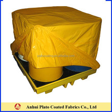 Yellow Shrink Resistant Thermal Pallet Cover ,Pallet Bag