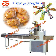 Automatic lollipop candy pillow packing machine