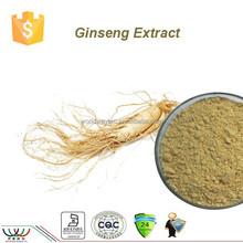 Free sample Chinese factory Natural herbal extract powder ginsenosides HPLC ginseng root,panax Ginseng extract