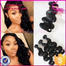 New Style Body Wave Unprocessed Brazilian Natural Color Human Hair,Wholesale Price Natural Hair 100% Hair Extension