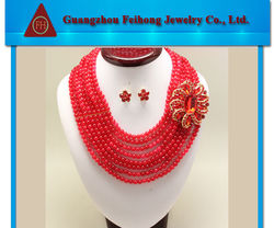 China new design fashion and best price 2013 indian bridal fashion jewelry set