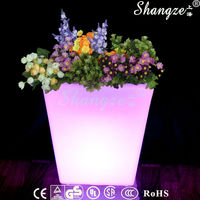 Tall Plastic Square Vases For Flowers