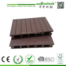 Recycled Wood Plastic Flooring Plank WPC Decking