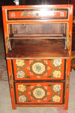 Antique painted shoe cabinet LWB387