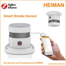 Zigbee inalámbrica WIFI controlado detector de humo direccionable