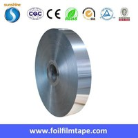 Double side aluminum foil ALU+PET+ALU Tape aluminum foil heating pet pad