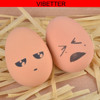 TOY-010 Egg ball type dog toys solid rubber pet elastic ball non-toxic harmless small dog toy