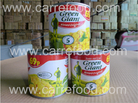 Non gmo canned corn / sweet canned corn specification / canned white corn