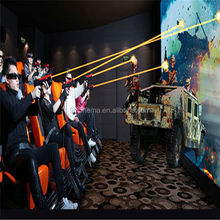 Funny games in cinema equipment 7d 8d ride cinema simulator with 6dof motion chairs