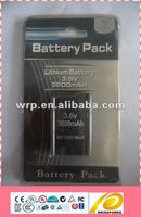 3.6v lithium ion battery for PSP players