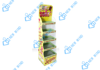 children toy advertising standee cardboard floor displays for candy gift