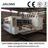 Full automatic high speed Carton flexo 1-6 color printer slotter die cutter machine