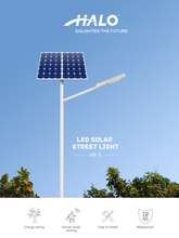 Solar cell lamp for garden led street light 60W