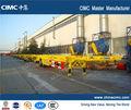 chino del esqueleto del tractor remolque para 40ft 20ft o el transporte de contenedores