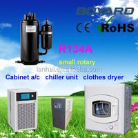 Zhejiang boyard r134a r410a air conditioner air compressor 1500w for water cooler air cooler