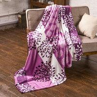 All Seasons Collection Micro Fleece Plush cool and warm blanket