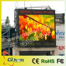 P6 led display factory outdoor advertising double side led screen/front open sign good for maintanence