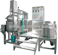 Cosmetic, paint, lotion, shampoo , cake cream mixer , vacuum emulsifying mixing machine,homogenizing blender