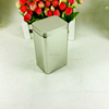 Popular gift design rectangle tall flat tin container