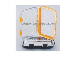 Colored water proof clear lid fly fishing tackle(B)