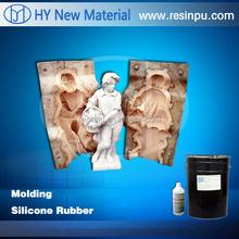 RTV-2 liquid silicone rubber for statue/sculpture mold making
