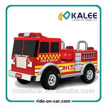 paseo en el fuego del motor del coche de juguete niños pedal de paseo en el juguete del coche