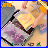 Waterproof classify clothes travel storage bag cosmetic bag clear PVC bag