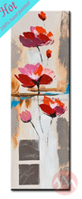 Dropshipping picture flower canvas oil paintings