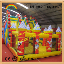 Giant outdoor inflatable castle/ inflatable bouncer/ inflatable slide