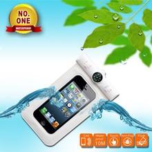 For iPhone 6 smartphone waterproof case,waterproof phone bag with clip,waterproof phone bag with armband